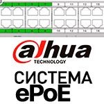 Dahua Technology выпустила систему ePoE